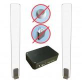 Metaal- en magneet detectiesysteem incl. installatie (1 jaar service)